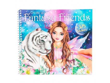 Omalovánka | Create your Fantasy Friends