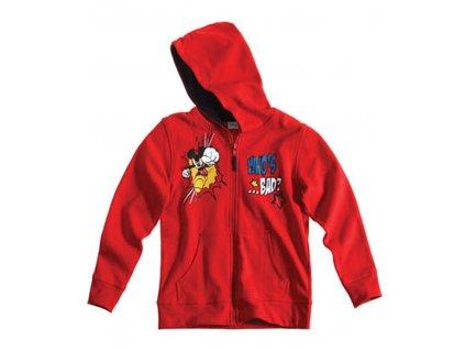 Chlapecká mikina Mickey Mouse červená Disney