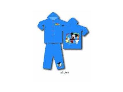 Dětská pláštěnka - kalhoty a bunda do deště Mickey Mouse