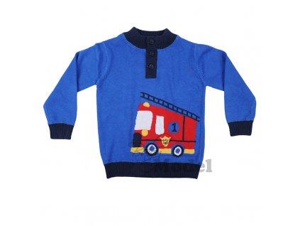 Chlapecký svetr Minoti modrý - Taxi08
