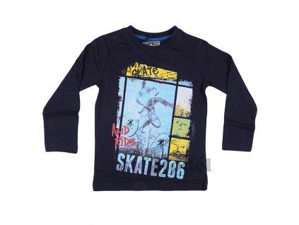 Chlapecké tričko Respect - Urban03 modré