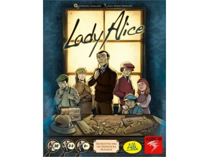 Lady Alice - detektivní hra od Sherlocka Holmese