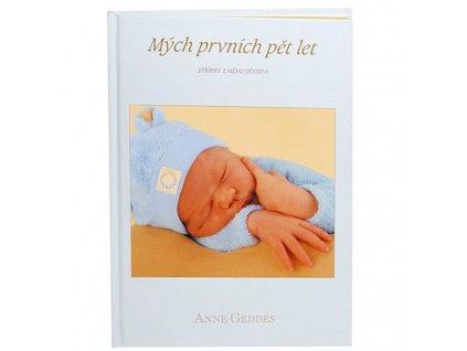 Kniha Anne Geddes - Mých prvních pět let - pro kluky