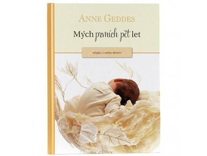 Kniha Anne Geddes - Mých Prvních Pět let žlutá