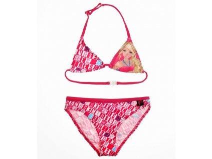 Dívčí plavky Barbie písmenka