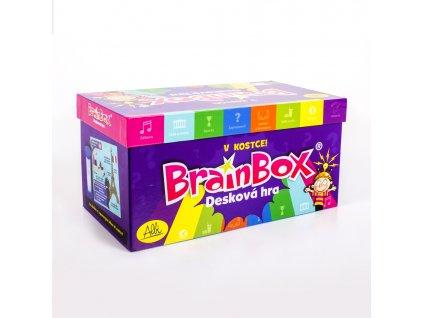 Albi V kostce! Desková hra Brain Box