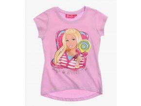 Dívčí tričko Barbie fialové