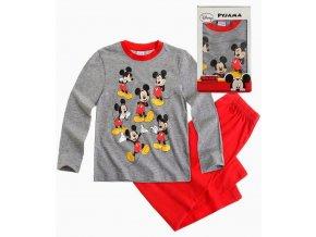 Chapecké pyžamo Mickey Mouse šedé