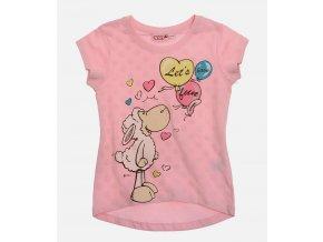 Dívčí tričko ovečka Nici světle růžové