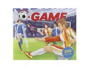 Kreativní sešit Create your Fotbal, 350 samolepek