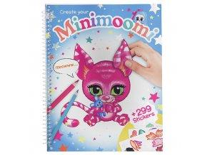 Vytvoř si Minimoomi-ho Ylvi and the Minimoomis se samolepkami