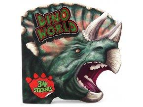 Omalovánky Dino World Hlava Triceratopse