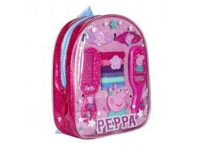 Sada vlasových doplňků v batůžku Peppa Pig