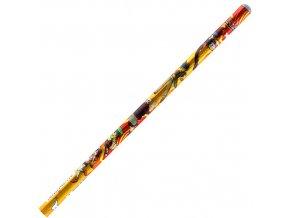 Tužka Beyblade oranžová s motivem Beyblade