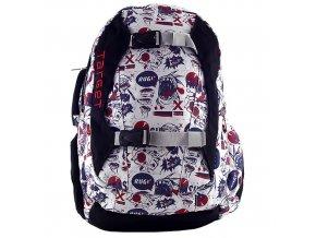Sportovní batoh Target motiv barevného potisku