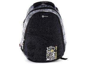 Sportovní batoh Target motiv Energetik, černý