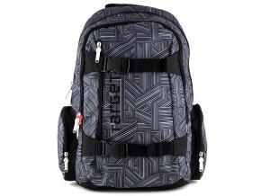 Sportovní batoh Target černo šedý
