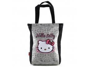 Nákupní taška Hello Kitty šedá