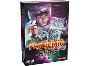 pandemic laborator krabice