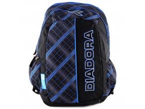 Studentský batoh Diadora černo-modrý