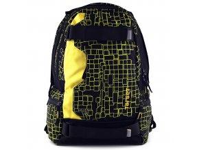 Sportovní batoh Target černo-žlutý