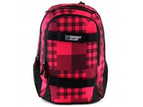Sportovní batoh Target růžové kostky