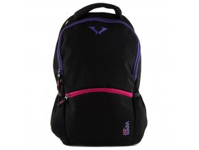 Sportovní batoh Target růžovo-fialový zip