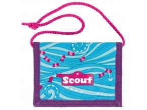 Peněženka s poutkem Scout Scout Brustbeutel II Happy Su