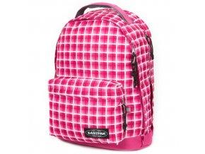 Studentský batoh Eastpak Růžové kostky
