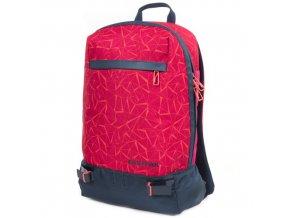 Sportovní batoh Eastpak Červený, oranžové kosočtverce