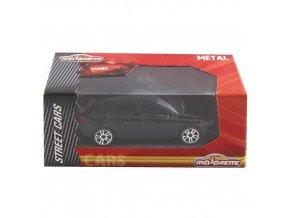Silniční automobil Majorette Černá,  7.5cm