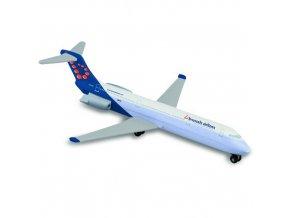 Letadlo Majorette Brussels Airlines, 13cm