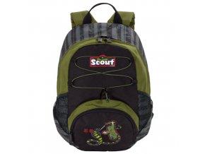 Dětský batoh Scout ergonomický, motiv Ninja a had