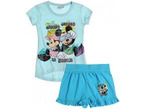 Dívčí komplet Minnie - tričko a kraťasy DISNEY