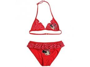 Dívčí plavky červené MINNIE Mouse DISNEY