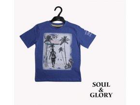 Chlapecké tričko Surf modré SOUL&GLORY