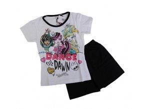 Dívčí souprava - pyžamo Monster High černé