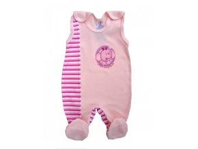 Dupačky růžové slon - Autex Baby