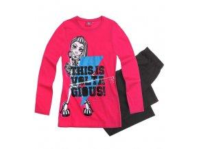 Dívčí pyžamo růžové Monster High