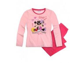 Dívčí pyžamo růžové MINNIE DISNEY