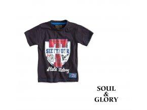 Chlapecké tričko s krátkým rukávem State modré