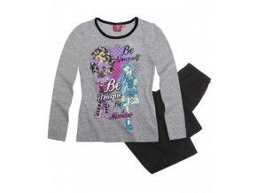 Dívčí pyžamo šedé  Monster High