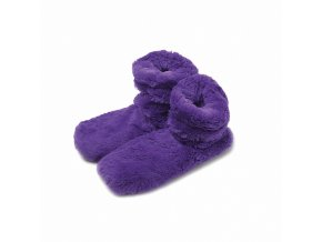 Hřejivé botičky Albi fialové