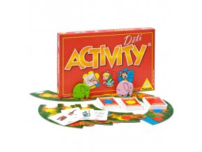 Piatnik Hra Activity Děti
