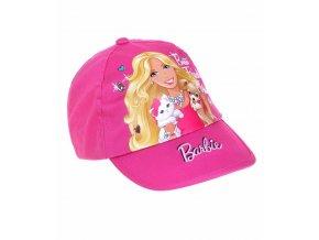 Dívčí kšiltovka Barbie malinová